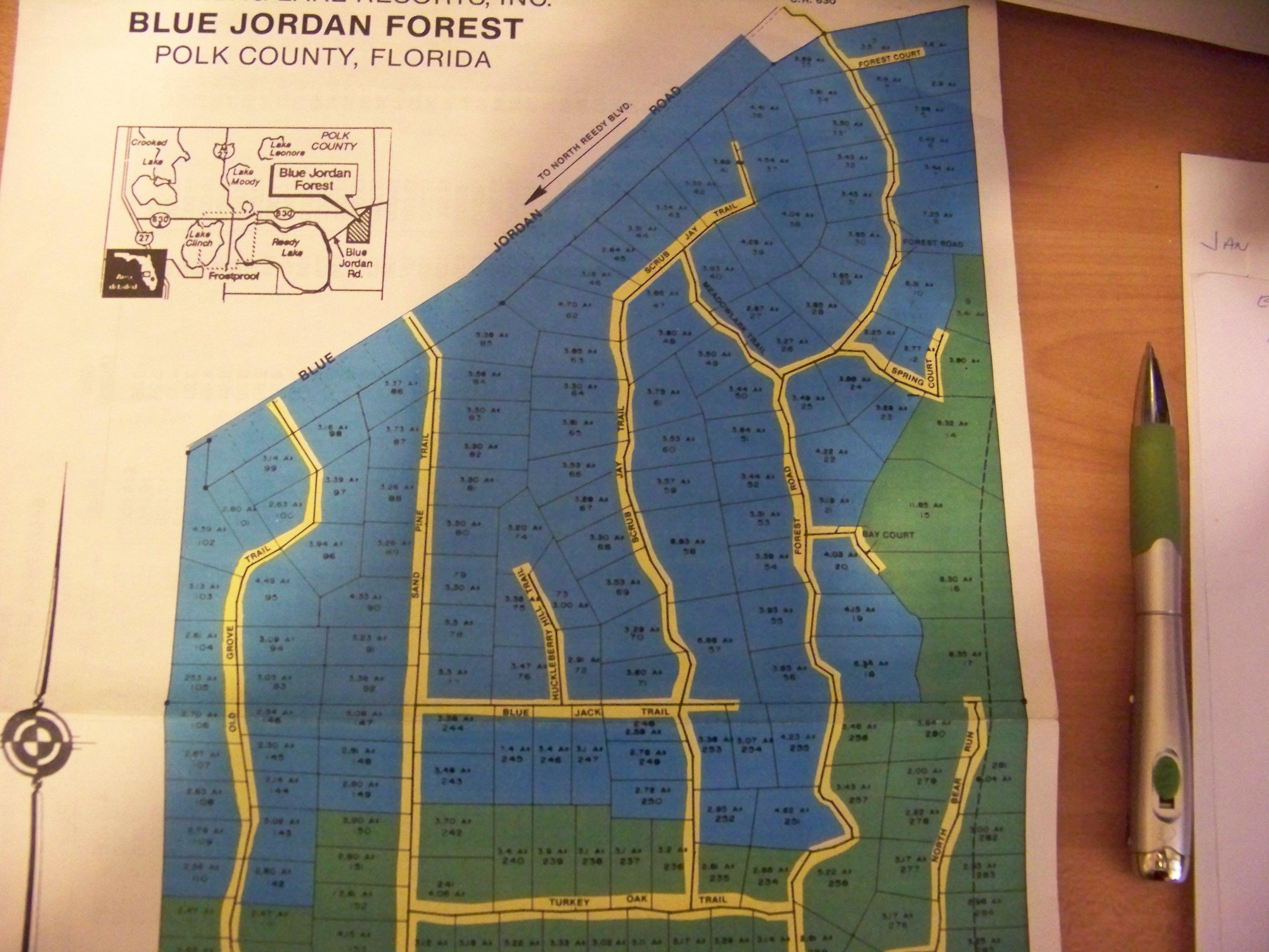 Frostproof Florida Map.Blue Jordan Forest Blue Jordan Forest Real Estate The Centre For